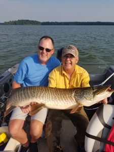 Hayward WI Musky Fishing Guides