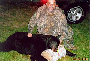 Bear Hunts take place on private land