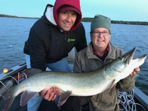 Musky fishing on the Chippewa flowage