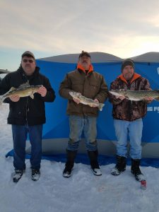 Flowage Ice Fishing