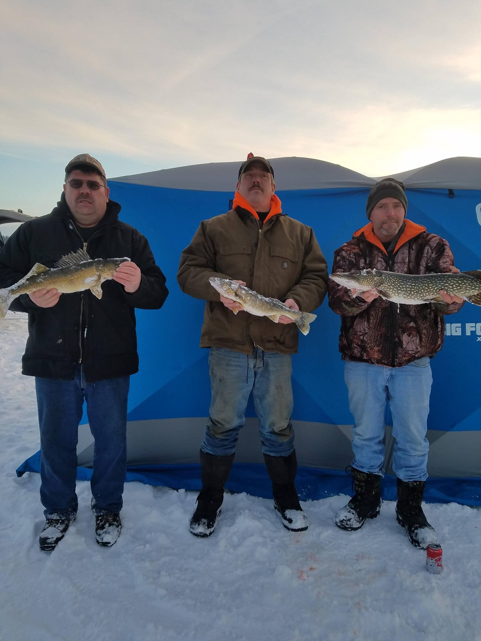 Flowage Ice Fishing